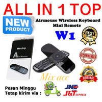 Airmouse W1 Keyboard Wireless Mini Remote Control For Android / Tv /PC