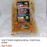 viral !!! kripik singkong beling / kripik kaca pedas