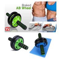 AB Wheel ABS Roller Wheel Alat Push Up Roda Pushup Fitnes Gym Fitness