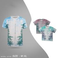 Kaos Pria Katun T-shirt Sablon Motif
