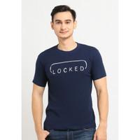 Kaos Pria /Kaos Katun/ Tshirt Cowok /Baju /Fashion/ Moving Blue 033