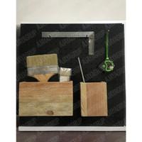 Kotak Storage kayu kecil untuk pegboard
