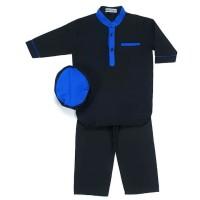 Koko Anak Arabian 3-10 tahun (Baju Koko Anak Warna Hitam)