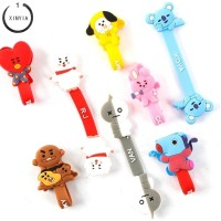 Bt21 Kabel Earphone Model Kartun Kpop BTS Bangtan