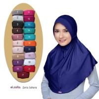 ELZATTA Bergo Zaria Sahara Asli Terbaru Hijab Kerudung Jilbab Instan