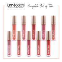 Harga jual lumecolor set 10 velvet lip check | antitipu.com