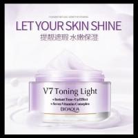 Bioaqua V7 Toning Light Cream Whitening Face Vitamin Cream Berkualitas