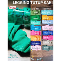 Legging cotton rich bayi / legging bayi anti slip tutup kaki