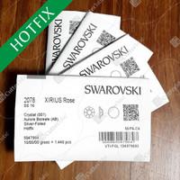 Crystal Swarovski SS16 3.8mm 1440 pcs AB - Hotfix Flatback Kristal