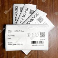 Crystal Swarovski SS12 3.0mm 1440 pcs Clear - NoHotfix Flatback