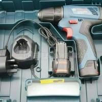 Bosch GSR 120 Mesin Bor Baterai Kayu Besi GSR120 Cordless drill