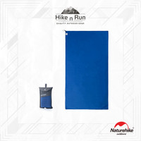 NH Antimicrobial Quick-Dry Towels / Handuk travel L (Blue)