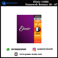 senar elixir 11002 nanoweb bronze akustik 10 - 47