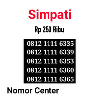 no Perdana Simpati Seri Kuartet 1111-0812 1111 6335 s5