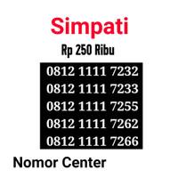 no Perdana Simpati Seri Kuartet 1111-0812 1111 7232 s2