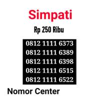 no Perdana Simpati Seri Kuartet 1111-0812 1111 6373 s6