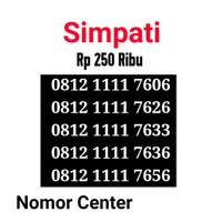 no Perdana Simpati Seri Kuartet 1111-0812 1111 7606 s4