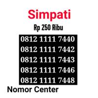no Perdana Simpati Seri Kuartet 1111-0812 1111 7440 s8