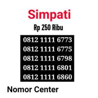 no Perdana Simpati Seri Kuartet 1111-0812 1111 6773 s7