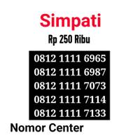 no Perdana Simpati Seri Kuartet 1111-0812 1111 6965 s0