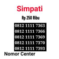 no Perdana Simpati Seri Kuartet 1111-0812 1111 7363 s4