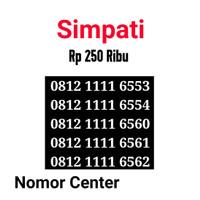 no Perdana Simpati Seri Kuartet 1111-0812 1111 6553 s1
