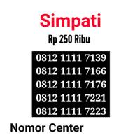 no Perdana Simpati Seri Kuartet 1111-0812 1111 7139 s1