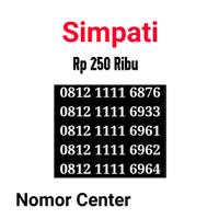 no Perdana Simpati Seri Kuartet 1111-0812 1111 6876 s9