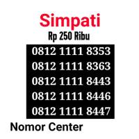 no Cantik Simpati Seri Kuartet 1111-0812 1111 8353 s8