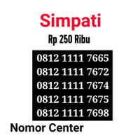 no Perdana Simpati Seri Kuartet 1111-0812 1111 7665 s6