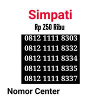 no Cantik Simpati Seri Kuartet 1111-0812 1111 8303 s7