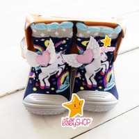 Sepatu Bayi Sepatu Anak Skidder Sepatu Karet Bayi Prewalker Bayi