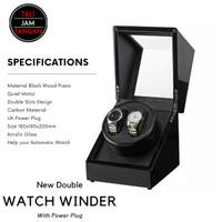 Watch Winder Double Slot Kotak Jam Tangan Untuk Jam Automatic