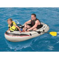 Bestway Inflatable Dinghy 1.88m Paddle Pump Perahu Karet Anak