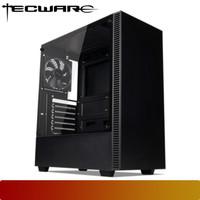 Tecware NEXUS C Black Tempered Glass