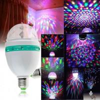 Lampu Disko Putar / Pesta Disco LED Warna Warni Karaoke Party Light