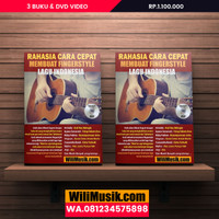 Rahasia Cara Cepat Membuat Fingerstyle Lagu Indonesia