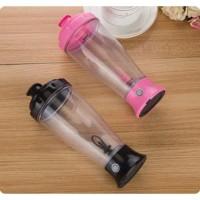 [PINK] Skinny Moo Mixer Botol Aduk Otomatis / Self Stirring Mug H-23