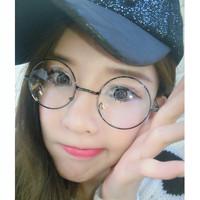 Kacamata Bulat (Design Korea) Pria dan Wanita - Model Vintage