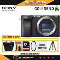 Kamera Sony Alpha A6400 Body Only PAKET