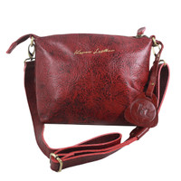 Sling Bag Simple Andini Red Motif