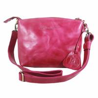 Sling Bag Simple Andini Pink polos