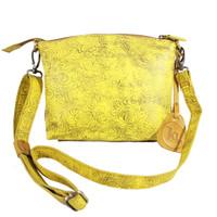 Sling Bag Simple Andini Yellow Motif