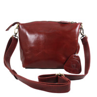 Sling Bag Simple Andini Red polos