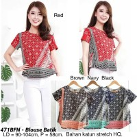 Harga blouse batik modern atasan cewek etnik murah baju wanita cantik | antitipu.com
