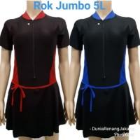 Baju Renang Rok Wanita Dewasa Size Jumbo 5L