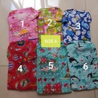Harga piyama anak 6 9 tahun baju tidur cewek cowok size 6 8 10 | antitipu.com