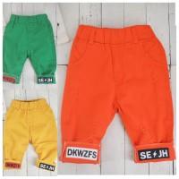 BJ09 - celana warna lipat anak kids pants toddler