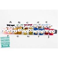 KK02 - kaos kaki elmo anak balita toddler kids socks