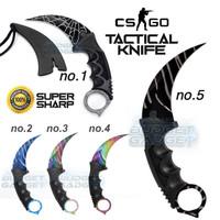 Pisau Karambit CS GO Tactical Knife Pisau Saku